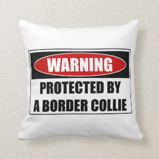 Cojín Decorativo Protegido por un border collie