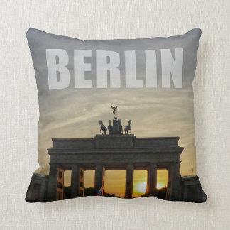 Cojín Decorativo Puerta de Brandeburgo, Berlín 01,2