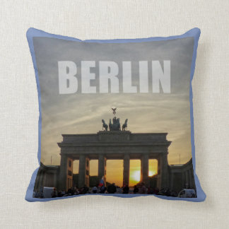 Cojín Decorativo Puerta de Brandeburgo, Berlín 01.3.2