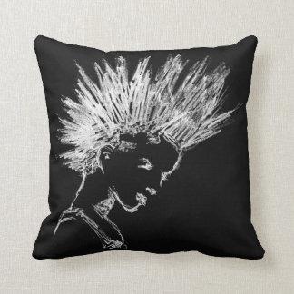 Cojín Decorativo Punk iro woman