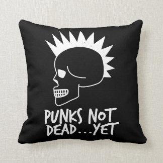 Cojín Decorativo Punks no absolutamente… con todo oscuridad del