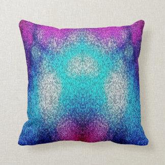 Cojín Decorativo púrpura y azul