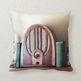Cojín Decorativo Radio de los años 30 del vintage