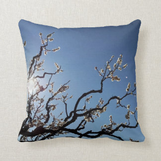 Cojín Decorativo Rama de árbol de florecimiento