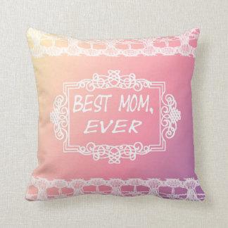 Cojín Decorativo Regalo en colores pastel del día de madre del