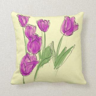 Cojín Decorativo Remiendo del tulipán
