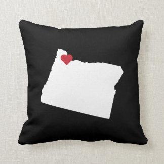 Cojín Decorativo Reversible adaptable del amor del estado de la