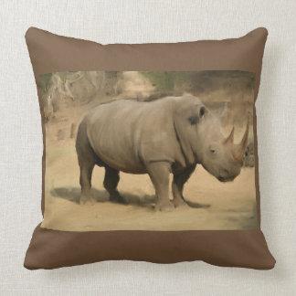 Cojín Decorativo Rinoceronte africano