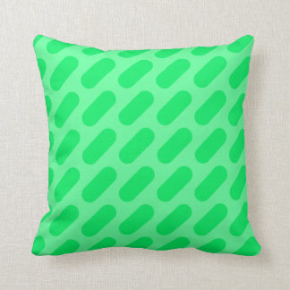 Cojín Decorativo Rociadas verde oscuro y verdes claras