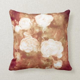 Cojín Decorativo Rosa blanco
