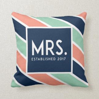 Cojín Decorativo Salmones dedicados modernos de señora Pillow //,