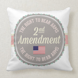 Cojín Decorativo Segunda enmienda