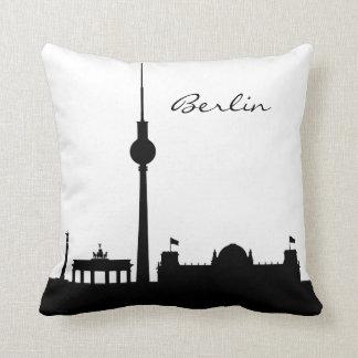 Cojín Decorativo Señal blanco y negro de Berlín