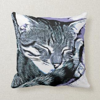 Cojín Decorativo Siesta del gatito de Bengala