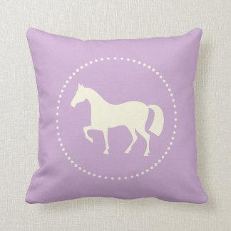 Cojín Decorativo Silueta del caballo