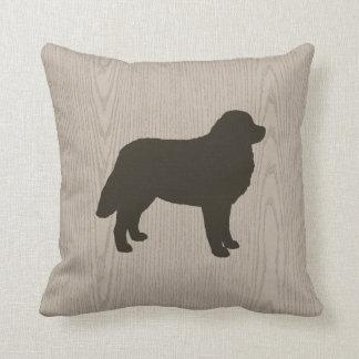 Cojín Decorativo Silueta del perro de montaña de Bernese