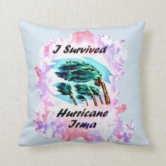 Cojín Decorativo Sobreviví el huracán Irma