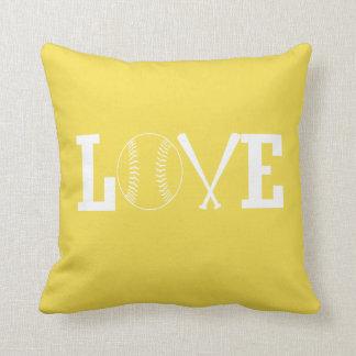 Cojín Decorativo Softball del amor