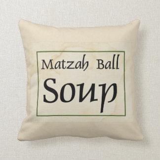 Cojín Decorativo Sopa de la bola del Matzah