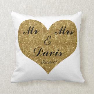 Cojín Decorativo Sr. y señora Customize para requisitos