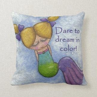 Cojín Decorativo Sueños de la sirena en color