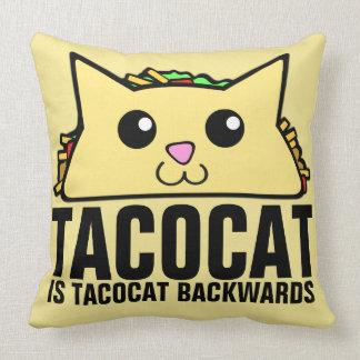 Cojín Decorativo Tacocat al revés