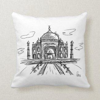 Cojín Decorativo Taj Mahal