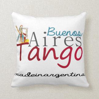 Cojín Decorativo Tango de Buenos Aires hecho en la Argentina