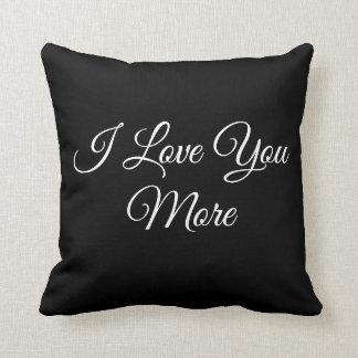 Cojín Decorativo Te amo más