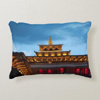 Cojín Decorativo Tejado budista de Dzong