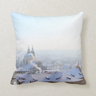 Cojín Decorativo Tejados del invierno de Praga