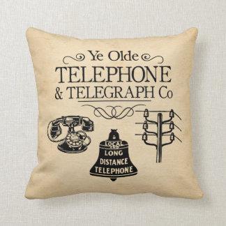 Cojín Decorativo Teléfono Seat del vintage