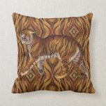 Cojín Decorativo Tigre victoriano