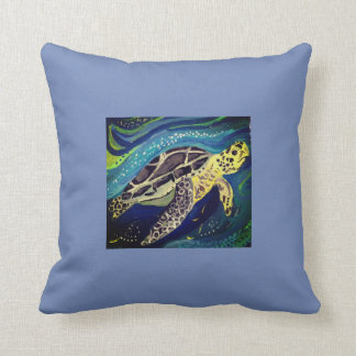 Cojín Decorativo Tortuga de mar verde