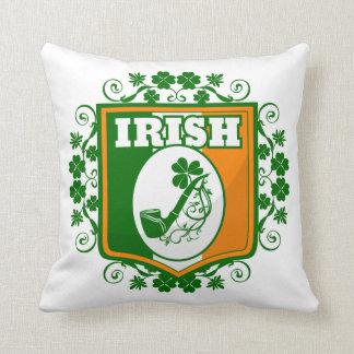 Cojín Decorativo Tubo del día del St Patricks
