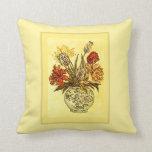 Cojín Decorativo Tulip Bouquet estilo victoriano