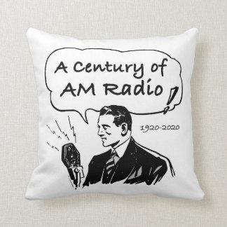 Cojín Decorativo Un siglo de radio de la