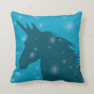 Cojín Decorativo Unicornio de la chispa