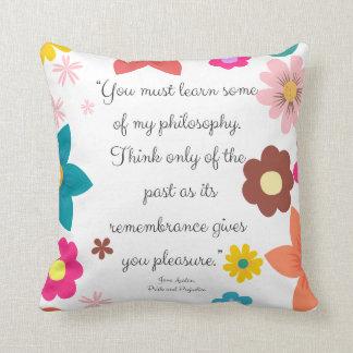 Cojín Decorativo Usted debe saber algo de mi filosofía