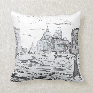 Cojín Decorativo Venecia. Ciudad en el agua