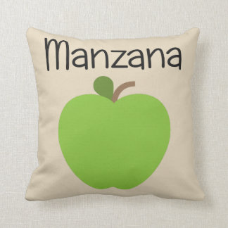 Cojín Decorativo Verde de Manzana (Apple)