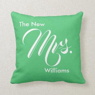 Cojín Decorativo Verde esmeralda de encargo la nueva señora