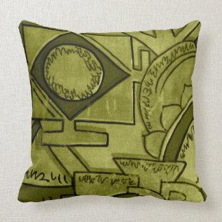 Cojín Decorativo Verde verde oliva de Astar