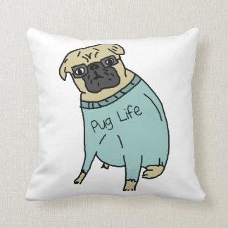 Cojín Decorativo Vida del barro amasado - perro divertido en un