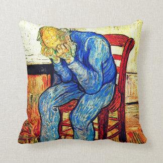 Cojín Decorativo Viejo hombre Sorrowing de Van Gogh
