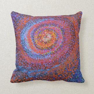 Cojín Decorativo Vórtice espiral - amortiguador abstracto