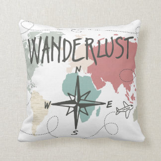 Cojín Decorativo Wanderlust