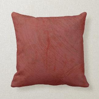 Cojín Decorativo Yeso veneciano rojo