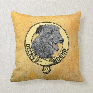 Cojín Decorativo Cojín Deerhound cuello
