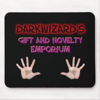 Cojín del regalo de Darkwizard y de ratón del Alfombrilla De Ratón